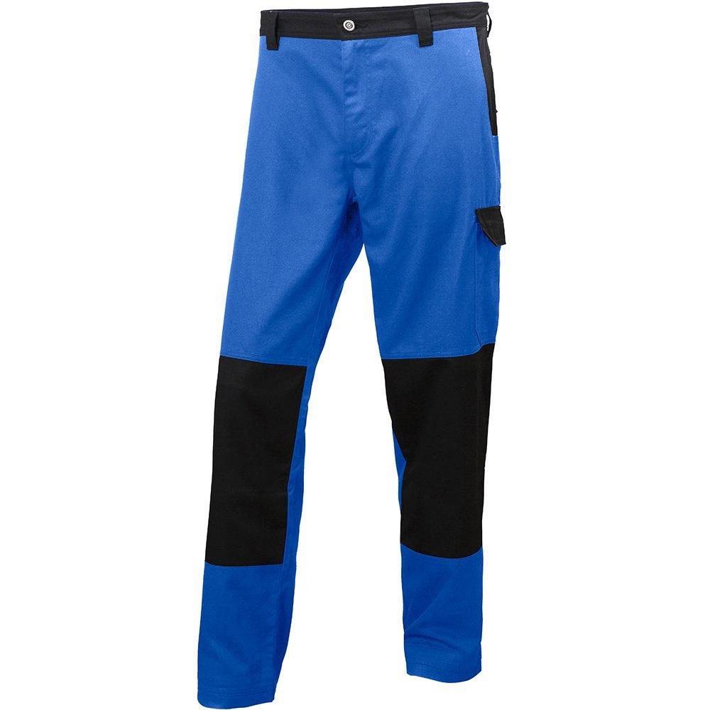 76468_559-C64 Work Pants''Sheffield'' Size In C64, Cobalt Blue/Black