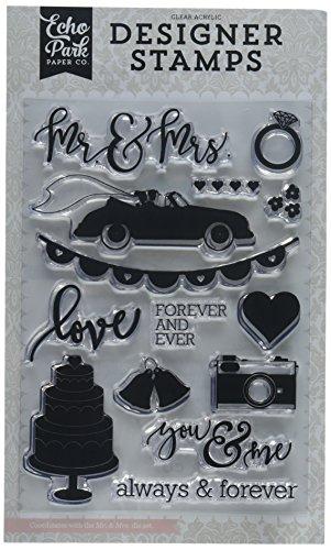 Echo Park Paper Company Mr & Mrs Stamp