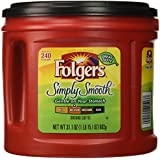 Folgers Simply Smooth Coffee, 31.1 Ounce