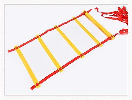 Tenis/Pasos De Baloncesto Entrenamiento De La Agilidad Escalera De Agilidad 3m (9.84ft) Capacidad De Equilibrio Jóvenes Y Escalera De Formación De Agilidad Capacidad De Coordinación De Manos Y Pies: Amazon.es: Deportes y