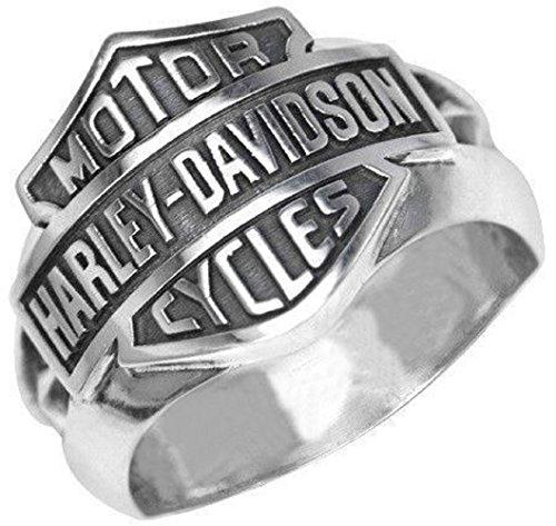 argunjewellery Cool Jewelry Harley Legend Biker 925K Sterling Silver Men's Ring