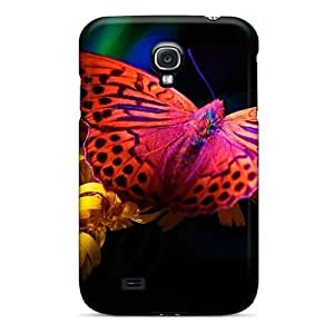 Awesome Case Cover/galaxy S4 Defender Case Cover(bright Butterfly)