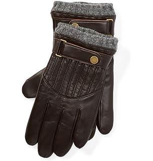 e7fd7eeda717 POLO Ralph Lauren Men s Leather Quilted Glove L at Amazon Men s ...
