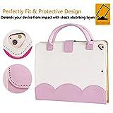 Jennyfly iPad Air Case,Girls Lovely Sleeve Handbag