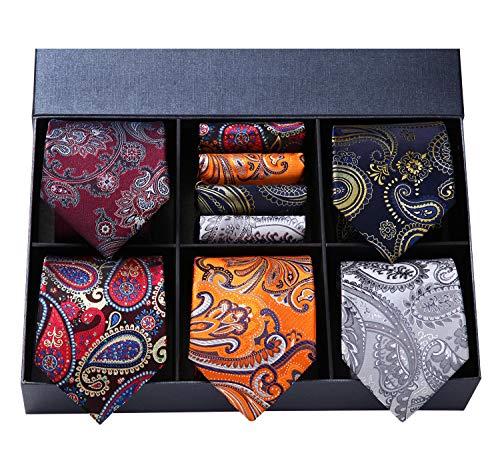 Handkerchief Necktie Set - 5