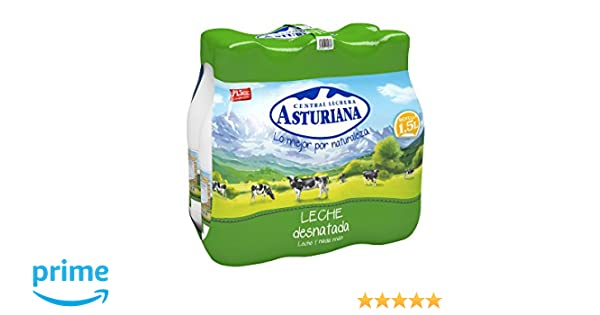 Central Lechera Asturiana - Leche Desnatada Botella 1,5L ...