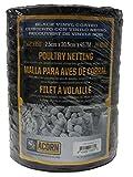 Acorn International PNVC112150 Vinyl Coated Poultry Netting, 1'' x 12'' x 150'