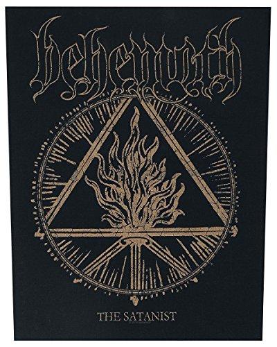 Behemoth the Satanist Back Patch 14x10 Inch
