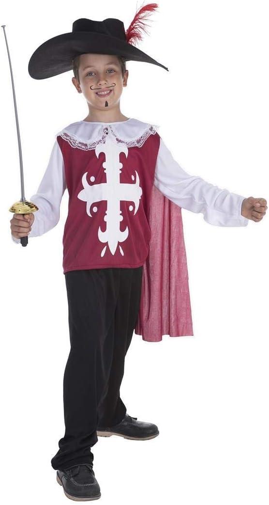 Creaciones Llopis Disfraz Infantil Mosquetero Toledo T-L (10 A 12 ...
