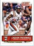 2016 Score #361 Laquon Treadwell Ole Miss Rebels Football Rookie Card