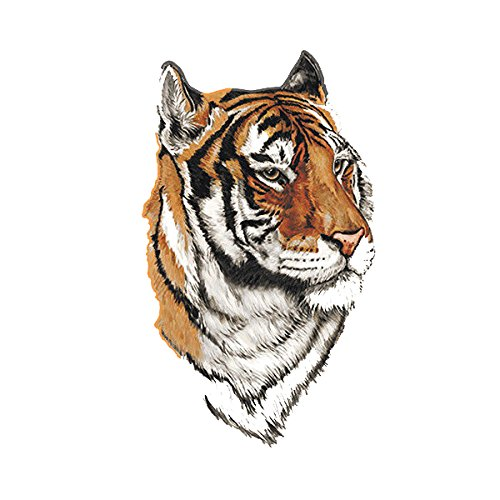 Tiger Decal Cat Bengal Siberian Car Truck RV Vinyl Window Sticker (RH)