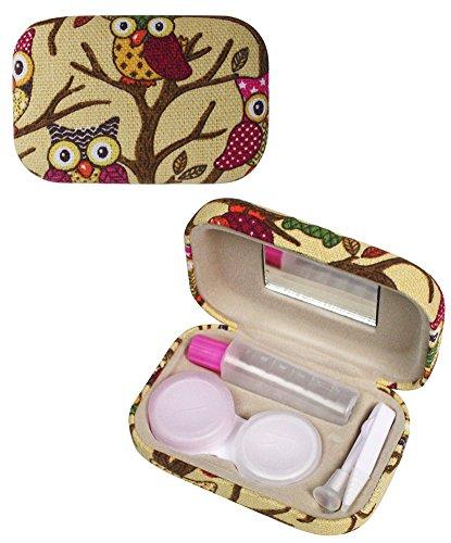 Owl Imprimer Kit de lentilles de contact