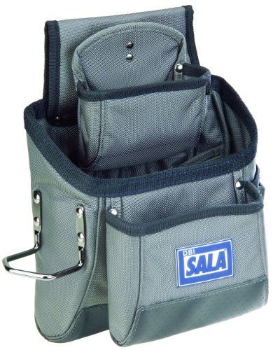 3M DBI-SALA 9504066 11-Pocket Tool and Equipment Pouch, Blue