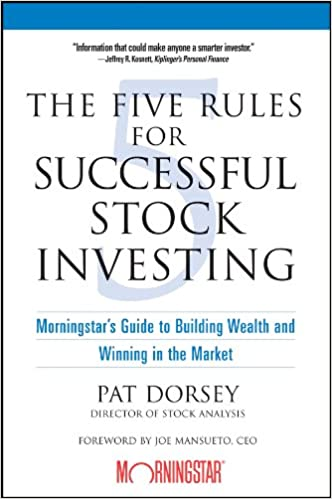 Image result for The Five Rules for Successful Stock Investing