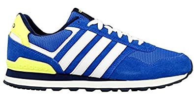 new product 07871 ff5ee adidas Neo 10K Trainers - Mens - Blue White Navy