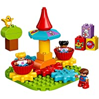 LEGO Duplo My First Carousel 10845 Educational Toy (Large Building Blocks)
