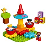lego duplo classic - LEGO DUPLO My First Carousel 10845 Educational Toy, Large Building Blocks