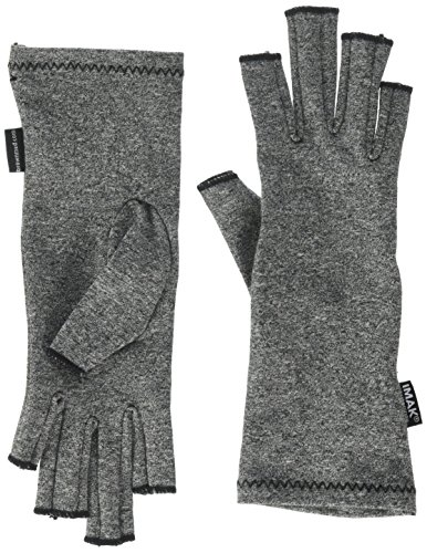 IMAK Compression Arthritis Gloves- Premium Arthritic Joint Pain Relief Hand Gloves for Rheumatoid & Osteoarthritis - Ease of Use Seal from Arthritis (Rheumatoid Arthritis Gloves)