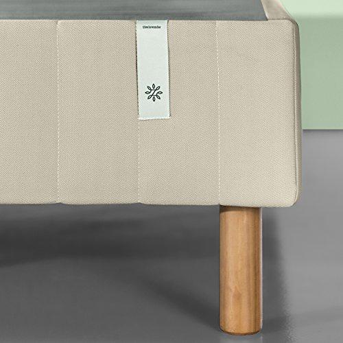 Zinus FRBX-9BG-F Standing Mattress Foundation/Platform Bed/No Box Spring needed /, Full, Beige