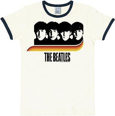 Logoshirt Beatles- The - Rainbow - Camiseta de Grupos de ...