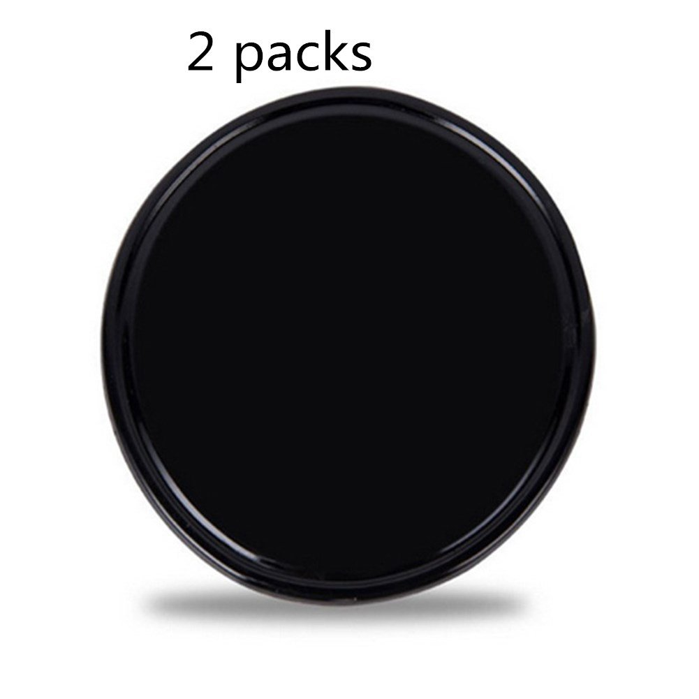 Universal Anti-slip mats,Woopower Round Silica Gel Magic Sticky No-Slip Car Pad Mounting Pad Holder for Cell phone, Sunglasses, Keys and more(8cmx8cm) (2 Packs)