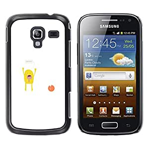 LECELL--Funda protectora / Cubierta / Piel For Samsung Galaxy Ace 2 -- Manos arriba Monster --