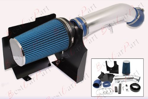 02 03 04 05 06 Chevrolet Avalanche 1500 5.3L V8 Cold Air Intake + Blue Filter HSICD1B