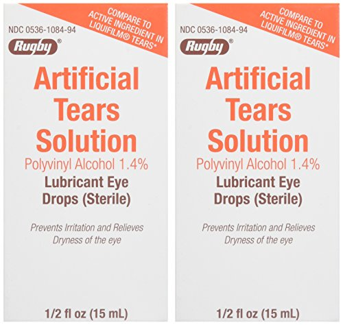 Artificial Tears Ophthalmic Solution, 0.5 Fluid Ounce - Pack of 2