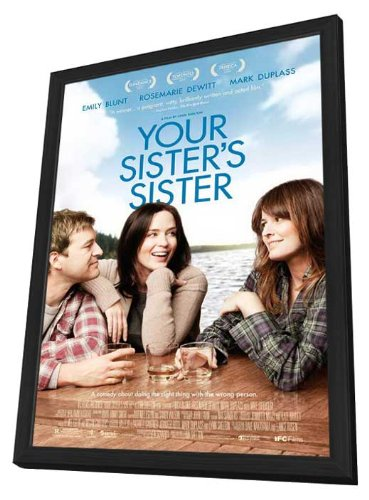Your Sister's Sister 27 x 40 Movie Poster - Style A - in Deluxe Wood Frame