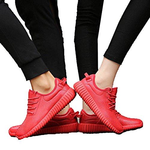 Primavera Y Otoño Sra CHT Salvajes Ocasionales De Los Deportes Zapatos De Los Amantes Red1