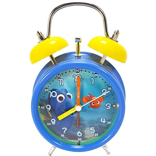 Disney Finding Dory Alarm Clock Kids Light Up Time Teach me Time