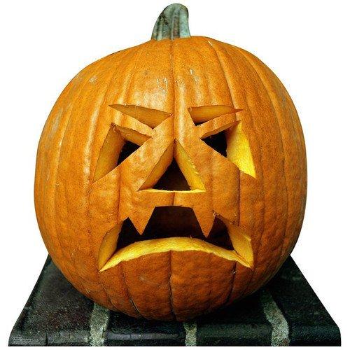 Halloween Pumpkin Cardboard Standup