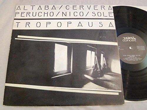 Tropopausa VINYL LP - Zeleste Concert - UM-2056