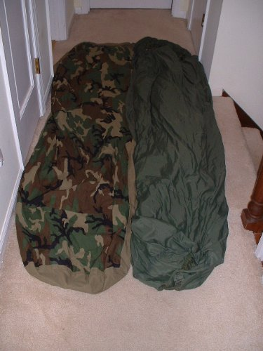 2 PC. US MILITARY GORETEX MODULAR SLEEPING BAG SYSTEM, Outdoor Stuffs