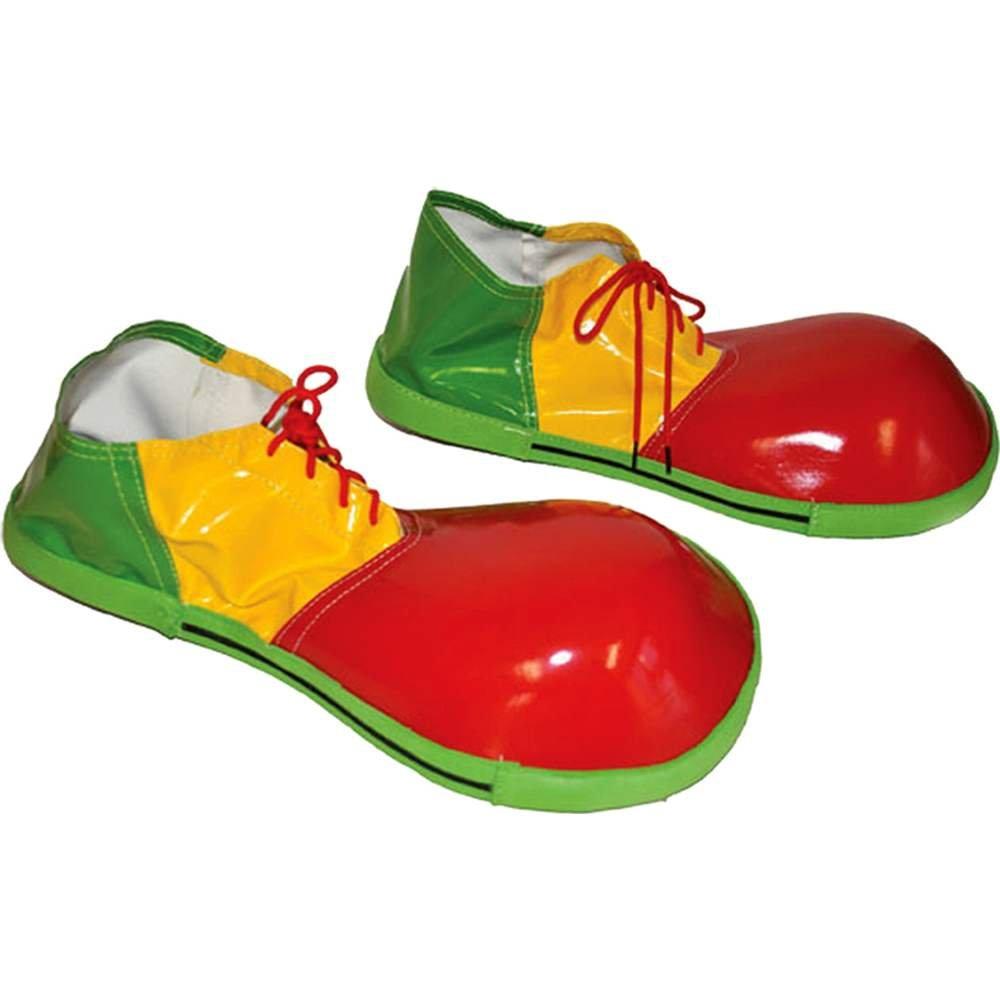 Tri-Color Clown Shoes Funny Fashion 747061