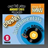 August 2011 Country Hits Instrumentals