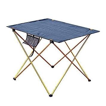 Wencaimd Muebles para Camping Mesa Plegable Parrillada Mesa De ...