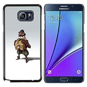 """Be-Star Único Patrón Plástico Duro Fundas Cover Cubre Hard Case Cover Para Samsung Galaxy Note5 / N920 ( Piloto Hombre Vestimenta Uniforme Arte Pintura Fly"""" )"""