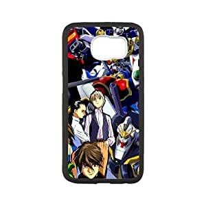 Samsung Galaxy S6 White phone case Mobile Suit Gundam Christmas gifts for boys and girls OPC9480587