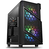 Thermaltake Commander C31 Black Motherboard Sync ARGB ATX Mid Tower Computer Chassis