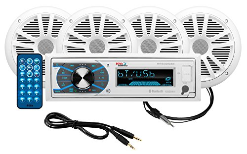 Boss Audio MCK632WB.64 Receiver / Speaker Package, Blueto...