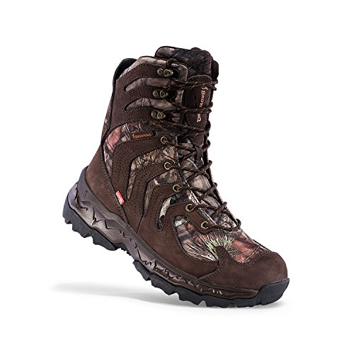 Boots Tactical Uninsulated (Browning Mens Buck Seeker 8in Big Game Boots - 800g, Bracken/Mossy Oak Country, F000004120133)