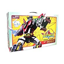 "Toynami Voltron 30th Anniversary Die-Cast w/ Light Up Eyes 11"" Tall 13"" W/ Base"