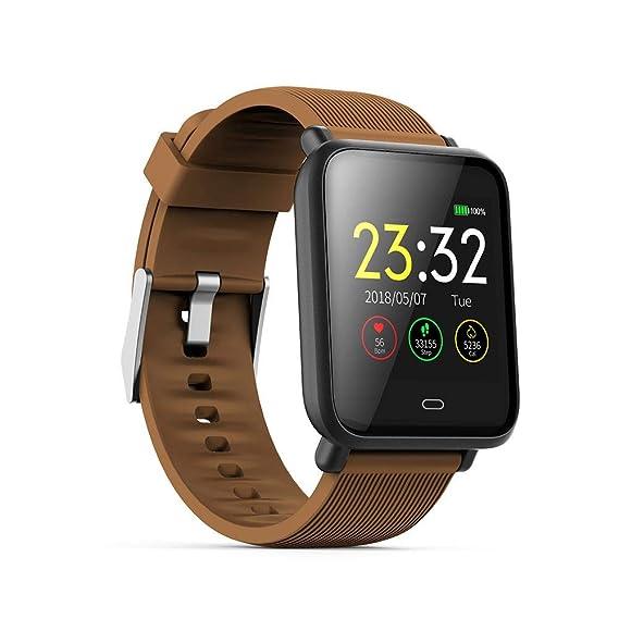 Amazon.com: sundengyuey Q9 Blood Pressure Smartwatch ...