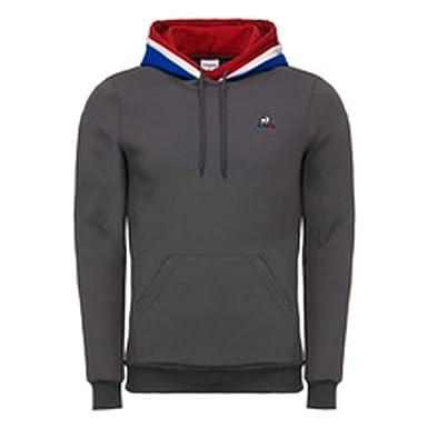 Le Coq Sportif - Sweat-Shirt à Capuche - Homme Gris Gris  Amazon.fr ... ea9149cf8ee5