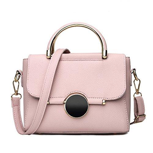 GWQGZ Bolso De Las Señoras De La Moda, Nueva Tendencia, Bolso De Hombro Del Color, Verde Pink