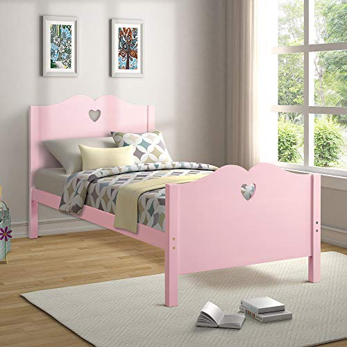 twin size wooden bed frame - 5