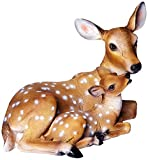 Design Toscano Mothers Love, Doe and Fawn Sculpture For Sale