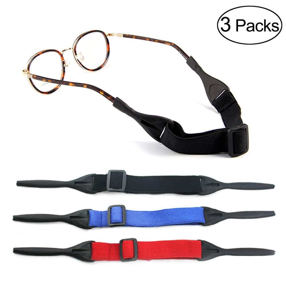 LUFF Anti-skid glasses chain Adjustable sports glasses fixation beltchainGlasseswithAdjustable Swimming Riding Outdoor sportsSiliconeglassesSkidrope