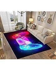 Stillshine. 3D Tapijten voor Slaapkamers Tiener Jongen Kids Mannen Galaxy Universe Gaming Patroon Tapijten Woonkamer Slaapkamer Decoraties Vloer Binnenruimte Tapijten Wasbare Antislip Tapijten Pads Zacht